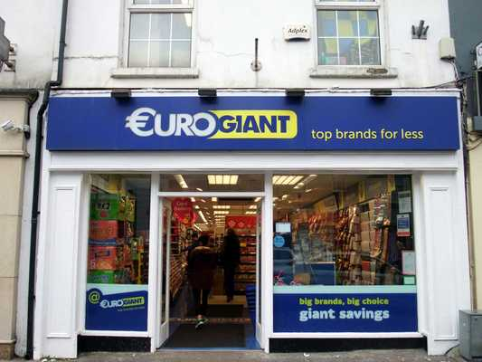 Euro Giant, O'connell Street, Clonmel Town Centre, Clonmel, Tipperary